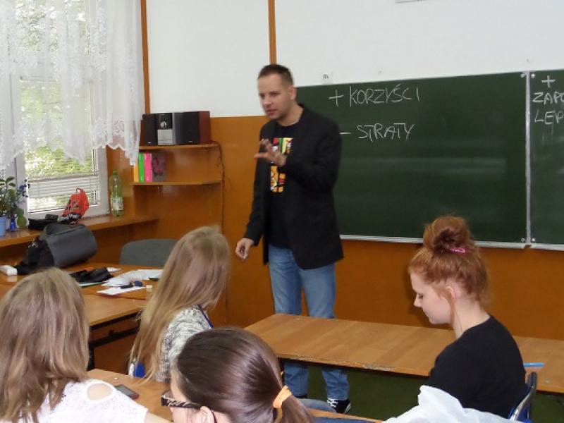 """Realizacja programu pt. """"DEBATA"""" we Włocławku"""