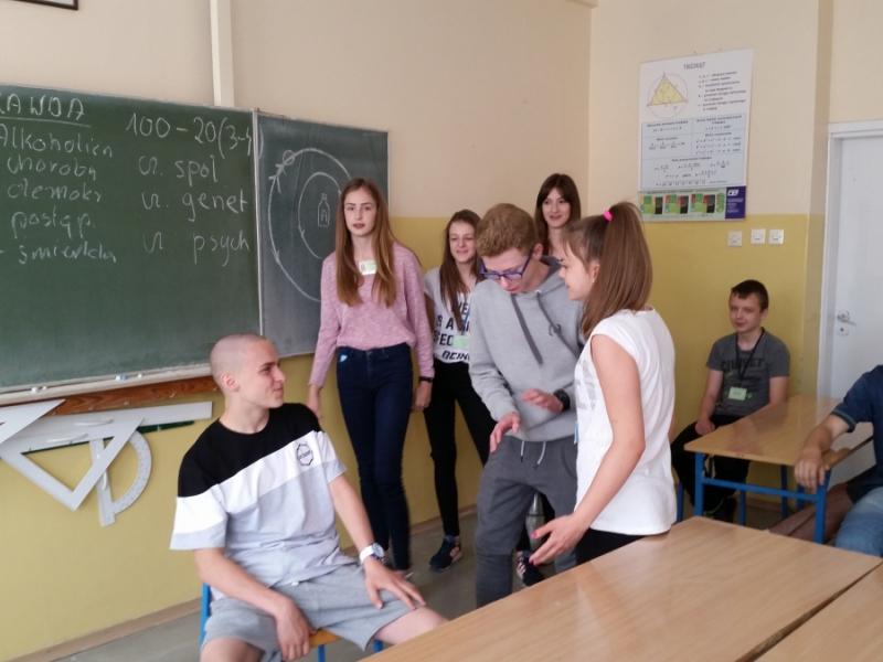 """Program profilaktyczny """"NOE cz. I"""" we Włocławku czerwiec 2016r."""